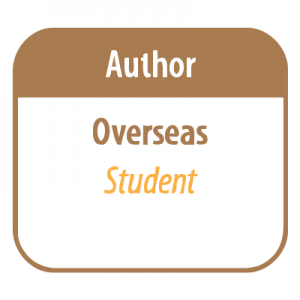 Author – Overseas (Student)