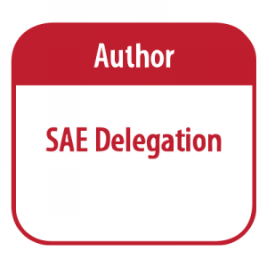 Author – SAE Delegation